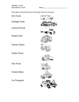 Wil Mara, Trucks! Handout