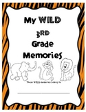 Wild 3rd Grade Memory Book