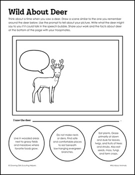 "Wild About Animals - Girl Scout Juniors - ""Animal Habitats"" (Step 1)"