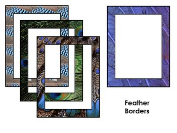 Zoo Animal Page Borders