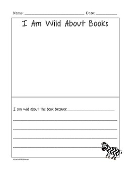 Wild About Books Activities