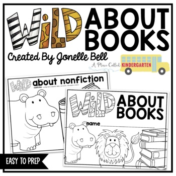 Wild About Books Genre Study for Kindergarten