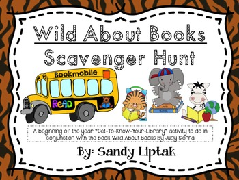 Wild About Books Scavenger Hunt