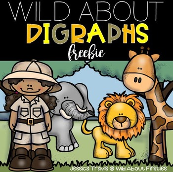 Wild About Digraphs { A FREE mini-packet of digraph activities}