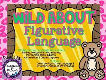 Wild About Figurative Language (Animal Literary Decive Unit)
