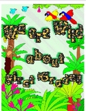 Wild About First Grade Bulletin Board Set!