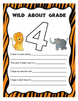 Wild About Fourth Grade