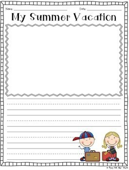 Back to School Worksheets and Activities, Math & Literacy, Crafy