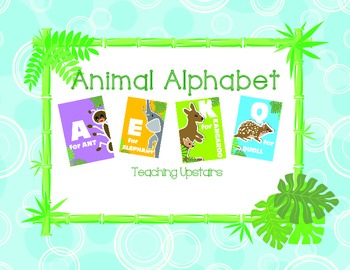 Wild About Learning: Alphabet Cards