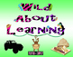 Wild About Learning Door Signs