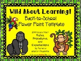 Wild About Learning Parent Information Night Power Point Template