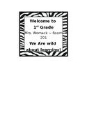 Wild About Learning Welcome