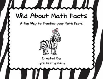 Wild About Math Facts- Timed Tests