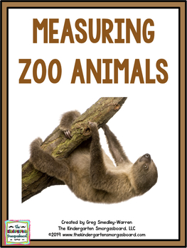 Wild About Measurement:  A Zoo Animal Measurement Creation!