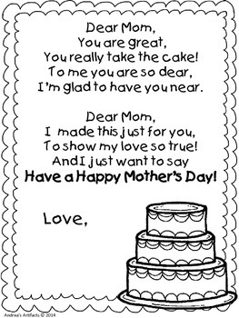 Mother's Day Booklet!
