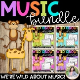 Music Worksheets BUNDLE: Wild About Music!