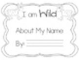 Wild About My Name Book