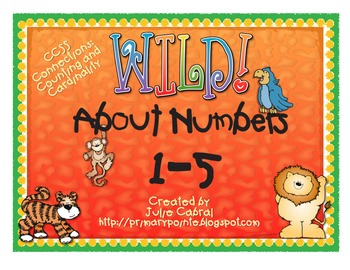 Wild About Numbers 1-5
