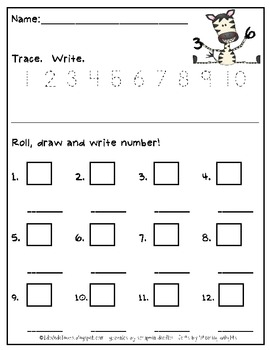 Wild About Numbers FREEBIE*