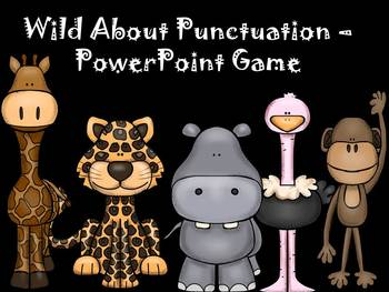 Wild About Punctuation PowerPoint Game