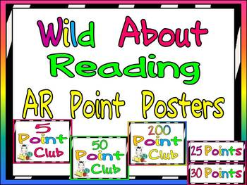Wild About Reading AR Points Tracking Display