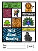 Wild About Reading! Bright Bookmarks, Reading Logs, etc. (Jungle Animals)