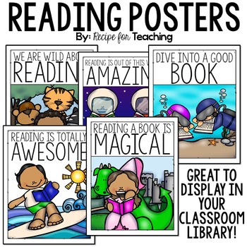 Reading Classroom Posters