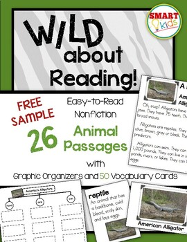 Wild About Reading Free Sample