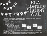Wild About Reading Literacy Station Wall