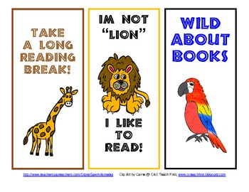 Wild About Reading Theme - Jungle or Rainforest Reading Motivators