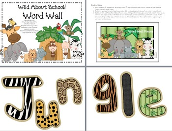 Jungle Classroom Word Wall