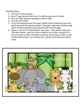 Wild About School!  Jungle Graphing