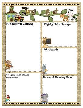 Jungle Newsletter