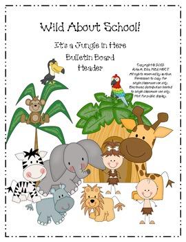 Jungle Pennant Bulletin Board