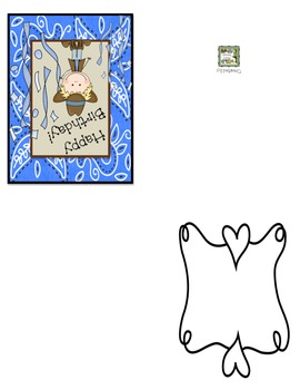 Wild West - Western Themed Birthday Cards w/Matching Envelopes