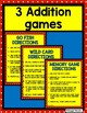 Addition fact game Wild About Sums 0 to 10