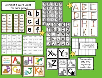 Wild About The Alphabet Activity Packet