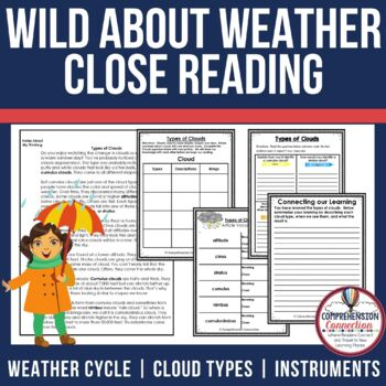 Weather Close Reading Bundle