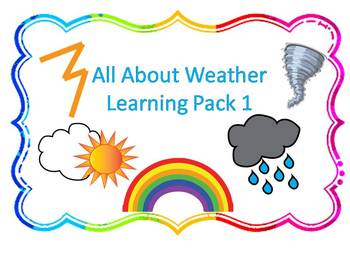 Wild About Weather Learning Pack 1