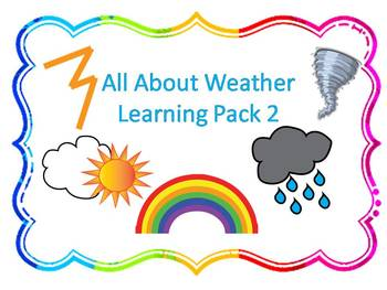 Wild About Weather Learning Pack 2