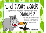 Wild About Words Adventure 3 Sight Word Progress Monitoring Game