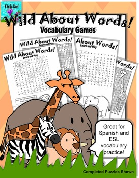 Wild About Words Vocabulary Game 2