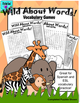 Wild About Words Vocabulary Game