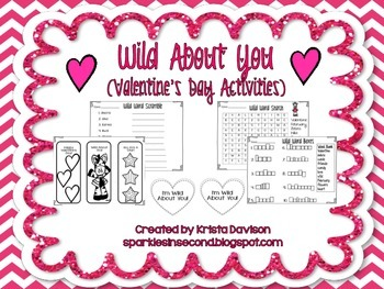 Wild About You Valentine's Day Activities