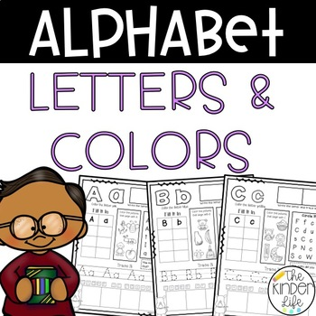 Wild About the Alphabet: Letter and Color Word Review