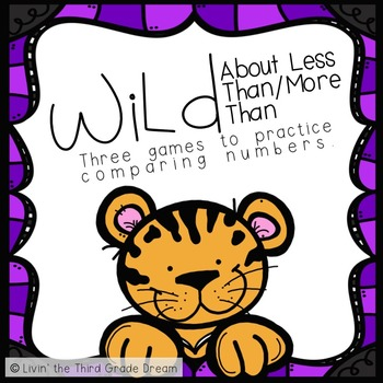 Wild About...Less Than Greater Than Games