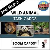 Wild Animal BOOM Cards™ Task Cards - Real Photos!