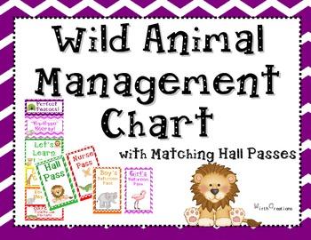 Wild Animal Behavior Chart