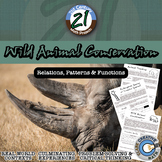 Wild Animal Conservation -- Patterns, Functions & Proportions Project