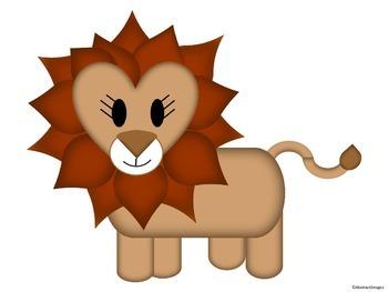 wild animal cutouts by abstractdesigns teachers pay teachers
